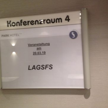 Zu Gast beim Treffen der LAGSFS