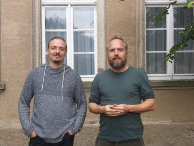 Georg Böse (FLJ) und Frank Döderlein (NESSI)